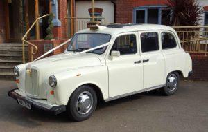 White London Taxi
